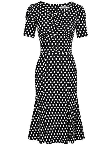 40s white dress - 9