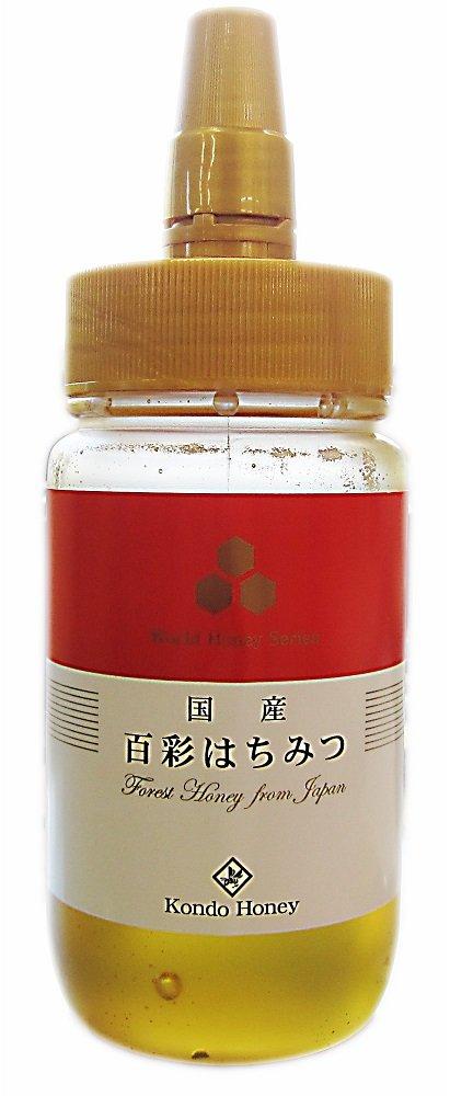 Kondo apiary domestic Hyakuirodori honey 250g