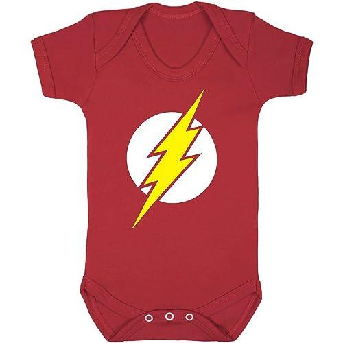 The Flash Baby Vest Amazon Co Uk Clothing