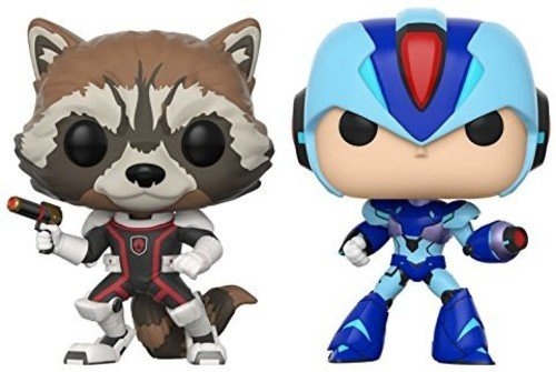 Pack Pop! Marvel Vs Capcom Infinite 2 - Rocket Vs Mega Man X