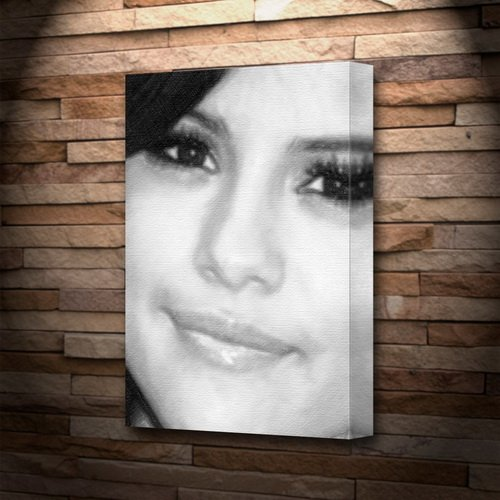Seasons Selena Gomez - Canvas Print (A4 - Signed by The Artist) #js003