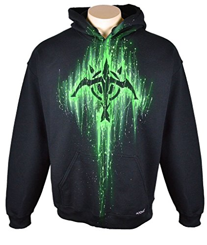 Sid Vicious League Of Legends Hoodie Custom Airbrushed Marksman Design, Pullover, Adult, XXL, Black