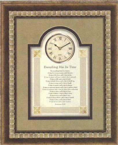3d Wall Clock - Everything Has Its Time 15