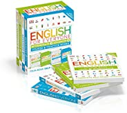 English for Everyone: Intermediate and Advanced Box Set: Course and Practice Books Four-Book Self-Study Progra