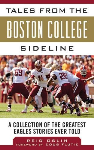 Heat Baseball T-shirt - Tales from the Boston College Sideline: A Collection of the Greatest Eagles Stories Ever Told (Tales from the Team)