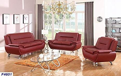 Amazon.com: Lifestyle Furniture Aldo - Juego de sofá para ...