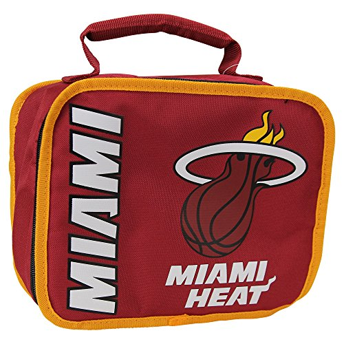 Officially Licensed NBA Miami Heat Sacked Lunch Cooler