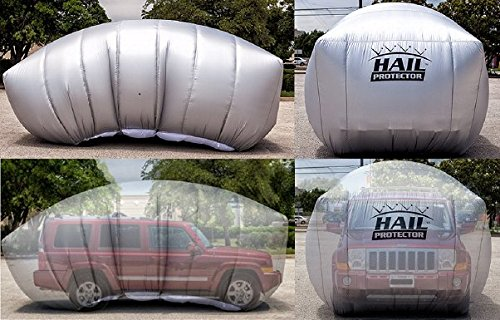 Amazon Com Hail Protector Patented Portable Car Cover System Any