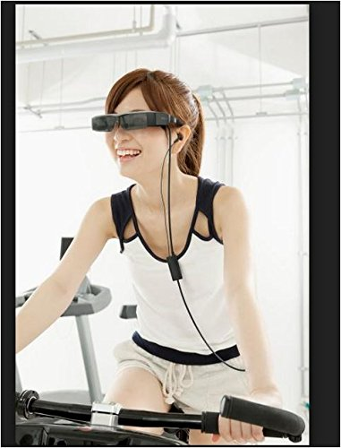 Epson Smart Glass Virtual Video Head mounted display MOVERIO BT-200 Immersive 3D by Moverio