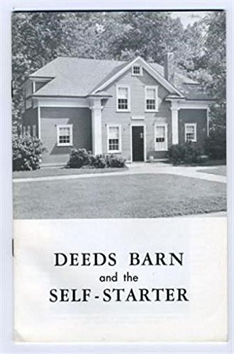 1971 Rotary - Deeds Barn and the Self Starter Carilion Park Booklet Dayton Ohio 1971