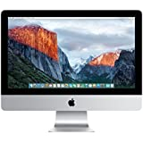 Apple iMac MK452LL/A 21.5-Inch Retina 4K Display Desktop (3.1 GHz Intel Core i5 Quad-Core, 8GB RAM, 1TB HDD, Mac OS X), Silver (Newest Version)
