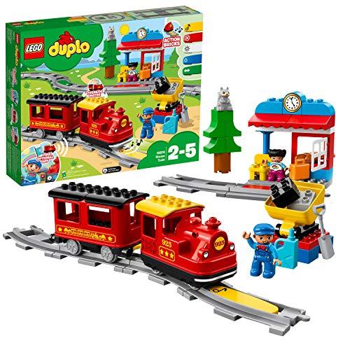 Lego 6213752 Lego Duplo Stoomtrein – 10874, Multicolor