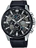 Casio Edifice–Reloj de pulsera analógico de cuarzo, de cuero, EFR-303L-1AVUEF