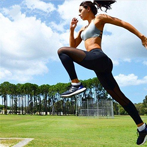 B S Xuanytp Pantalon de Yoga Leggings Femme Taille Haute Pantalon Femme Leggins Slim