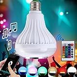 Bluetooth 4.0 Music Audio Speaker Bulb APP Controller E27 LED Lamp