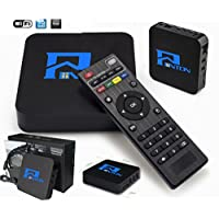 Penton Amlogic S805 Quad Core Smart TV Box Android 4.4 Kitkat System H.265 Wifi HDMI 3D LAN Miracast Media Player 1G RAM DDR4 8G ROM Remote Control