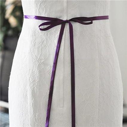 ULAPAN Womens Diamonds Crystals Wedding Belts Sash Rhinestones Bridal Belt Sashes for Wedding Dress,S352