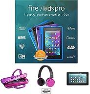 "Fire HD 7 Kids Pro tablet, 7"" HD (Doodle) with Kids Headset + Sleeve + Screen Prot"