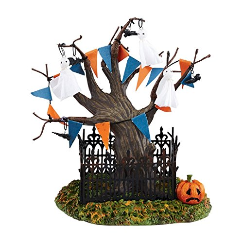 Department 56 Snow Village Halloween Town Tree Accessory Figurine, 6.1