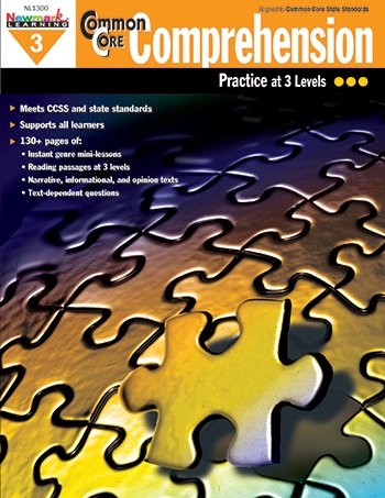 Amazoncom Newmark Learning Common Core Comprehension Practice