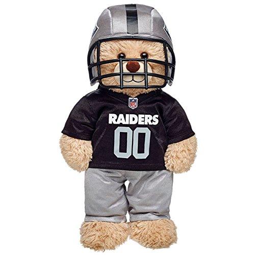 Build-a-Bear Workshop Oakland Raiders Fan Set 3 (Boy Build A Bear)