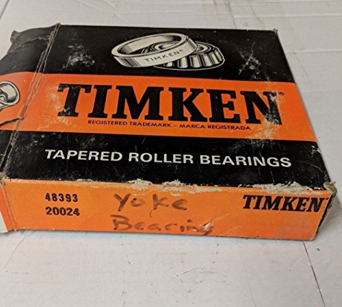 TIMKEN 48393 Cone Tapered Roller Bearings - Inch mm ID mm OD mm (Timken Cone)
