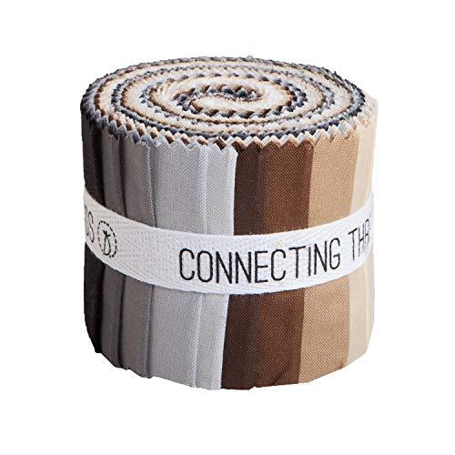 (Connecting Threads Color Wheel Premium Precut Fabric Bundle (Rocky Mountain 2.5