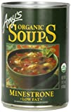 vegan split pea soup - Amy's Organic Soups, Low Fat Minestrone, 14.1 Ounce (Pack of 12)