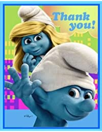 Hallmark Smurfs ThankYou Notes BOBEBE Online Baby Store From New York to Miami and Los Angeles