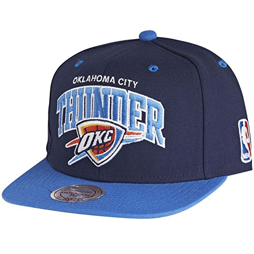 sports shoes 75e29 2cb3e Mitchell   Ness NBA Oklahoma City Thunder Team Arch Snapback Cap NA80Z  Kappe Buena