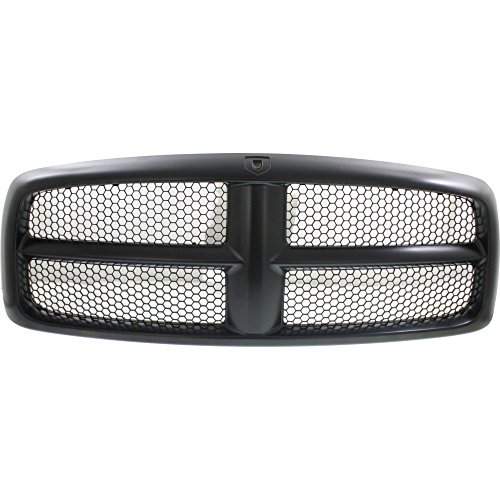 Evan-Fischer EVA17772021827 Grille for Dodge Full Size P/U 02-05 Honeycomb Insert Painted-Blck Shell/Primed Insert New Body Style