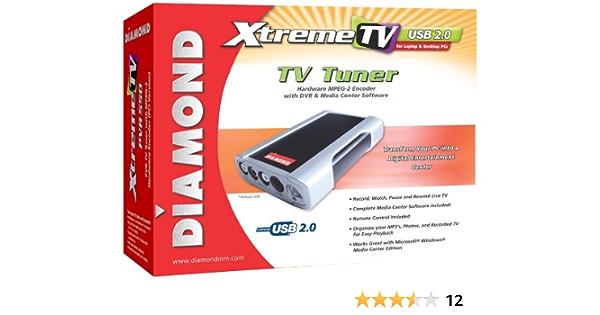Diamond Multimedia XtremeTV PVR660 USB TV Tuner Analógica - Sintonizador de TV (Analógica, USB)