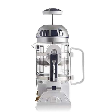 Robot de aislamiento Cafetera Presión Manual de mini ...