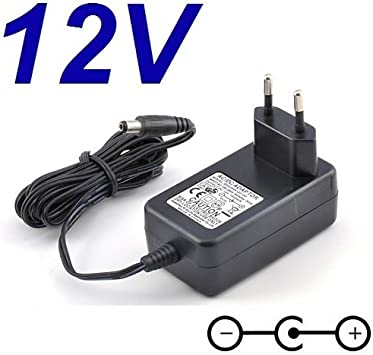 CARGADOR ESP ® Cargador Corriente 12V Compatible con Reemplazo Television Televisor TV Oki L22IA-PHDTUV 21.5