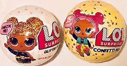 - L.O.L. Surprise! Confetti Pop-Series 3-Wave 1 Bundle with L.O.L. Surprise! Glitter Series