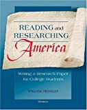 Reading and Researching America, Virginia Heringer, 0472030450