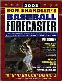 Baseball Forecaster 2004 by Ron Shandler