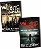 img - for Robert Kirkman Jay Bonansinga 2 Books Collection Pack Set The Walking Dead NEW: Rise book / textbook / text book