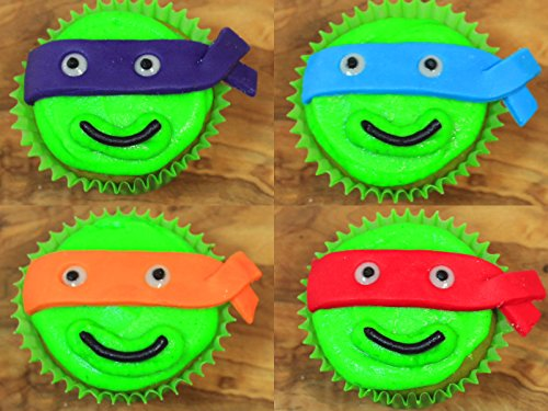 Teenage Mutant Ninja Turtles Cupcakes (TMNT cupcakes)