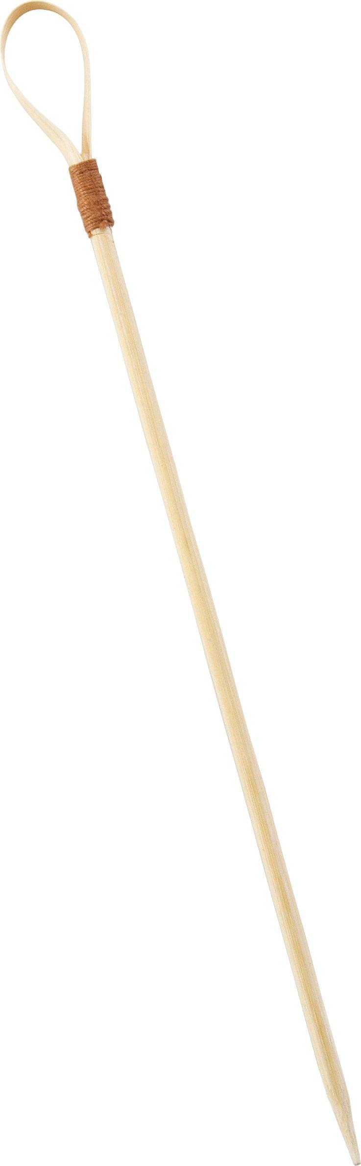 Solia VO11210 Bamboo Pique Image Skewer, 0.1'' Diameter x 3.93'' Height (Case of 2000)