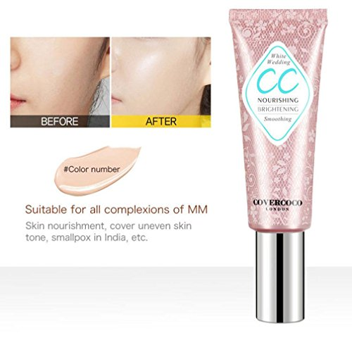 certainPL Concealer, Makeup Face Eye Foundation Concealer Highlight Contour Liquid Stick Makeup Natrual Cream (Soft Luster Eye Color Stick)