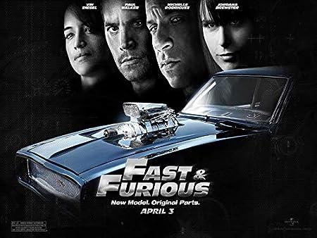 B-HOC31C Fast Furious 6 47cm x 35cm,19inch x 14inch Silk Print Poster