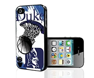 Duke Blue Devils Blue College Basketball Sports Hard Snap on Phone Case (iPhone 5/5s)