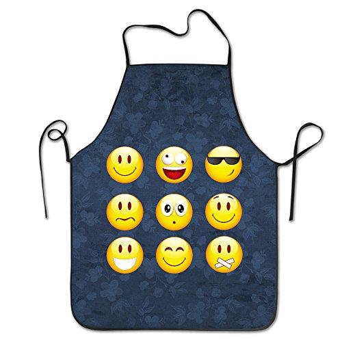 Smiley Emoticons Fashion Apron Kitchen Apron