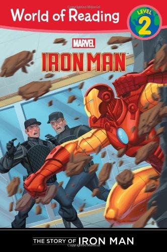The Story of Iron Man (Level 2) (World of Reading) (The Iron Man Story)