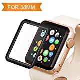 Bestfy Apple Watch Screen Protector 38mm Tempered Glass...