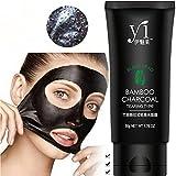 Blackhead Mask Remove, TONSEE Black Mud Deep Cleansing Pilaten Blackhead Remover Purifying Peel Face Mask