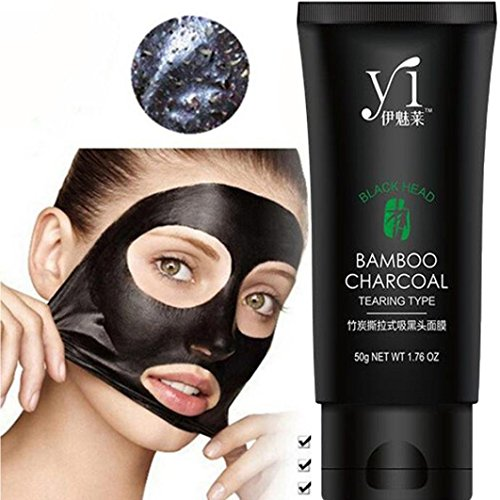 Blackhead Mask Remove, TONSEE Black Mud Deep Cleansing Pilat