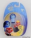 Japan Import Disney Inside Out mini figure Kanashimi & Ikari