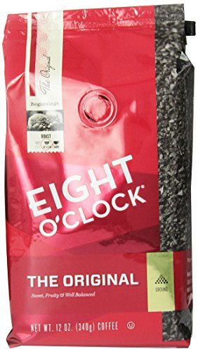 Eight O'Clock Coffee, Original Ground, 12-Ounce Bag (Pack of 6)